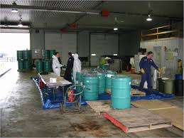 Solvent Waste Recycling Test
