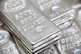 silver for cash - silver ingots are refined at our silver refinery