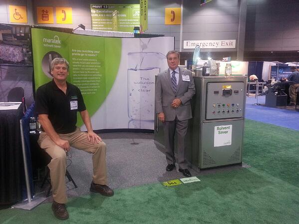 Maratek Environmental at Print 13 Expo