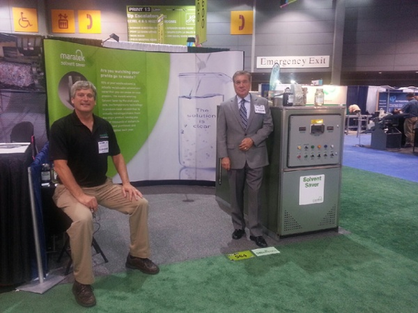 At the trade show