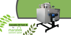 Cannabis Oil Tech Solvent Recovery Equipment