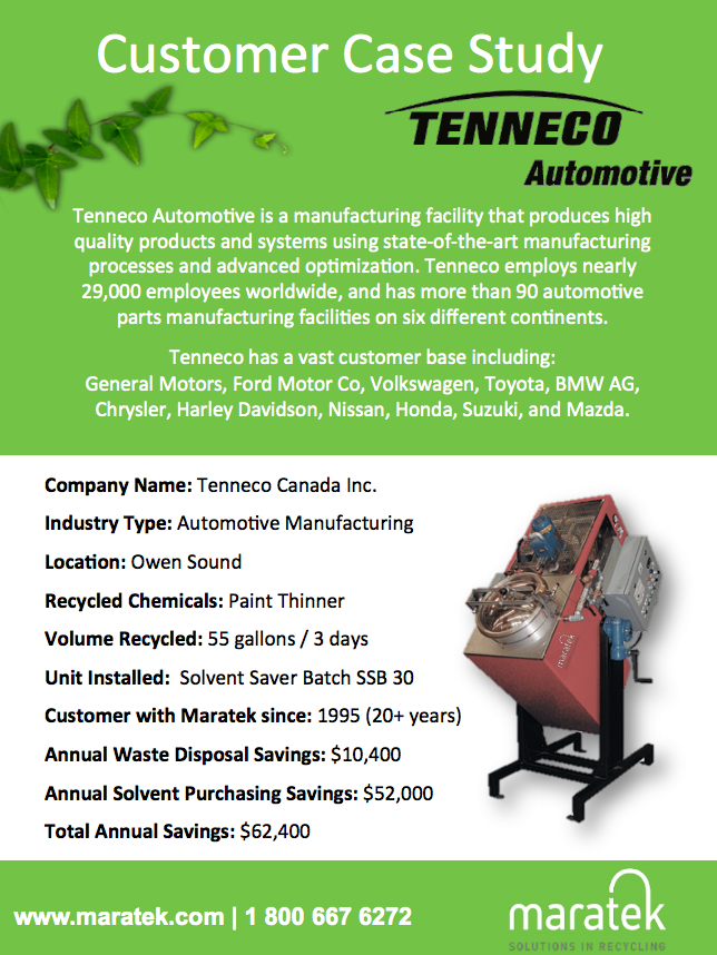 Tenneco Case Study