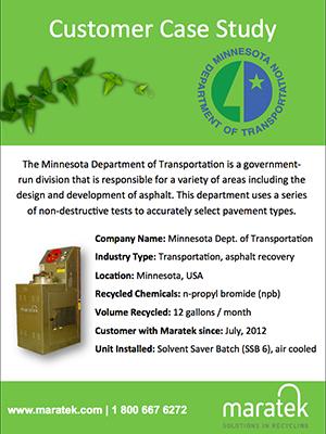 Minnesota Department of Transporation - Asphalt Recycling