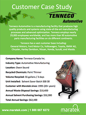 Tenneco Automotive - Manufacturing