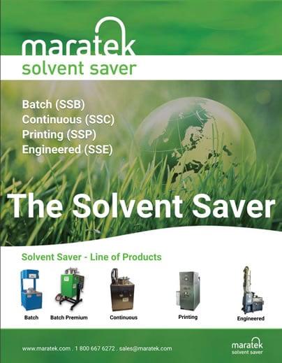 Solvent Saver