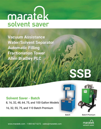Solvent Saver Batch Brochure