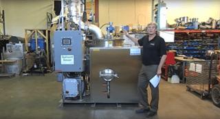 Fractional Distillation Of Solvent Waste