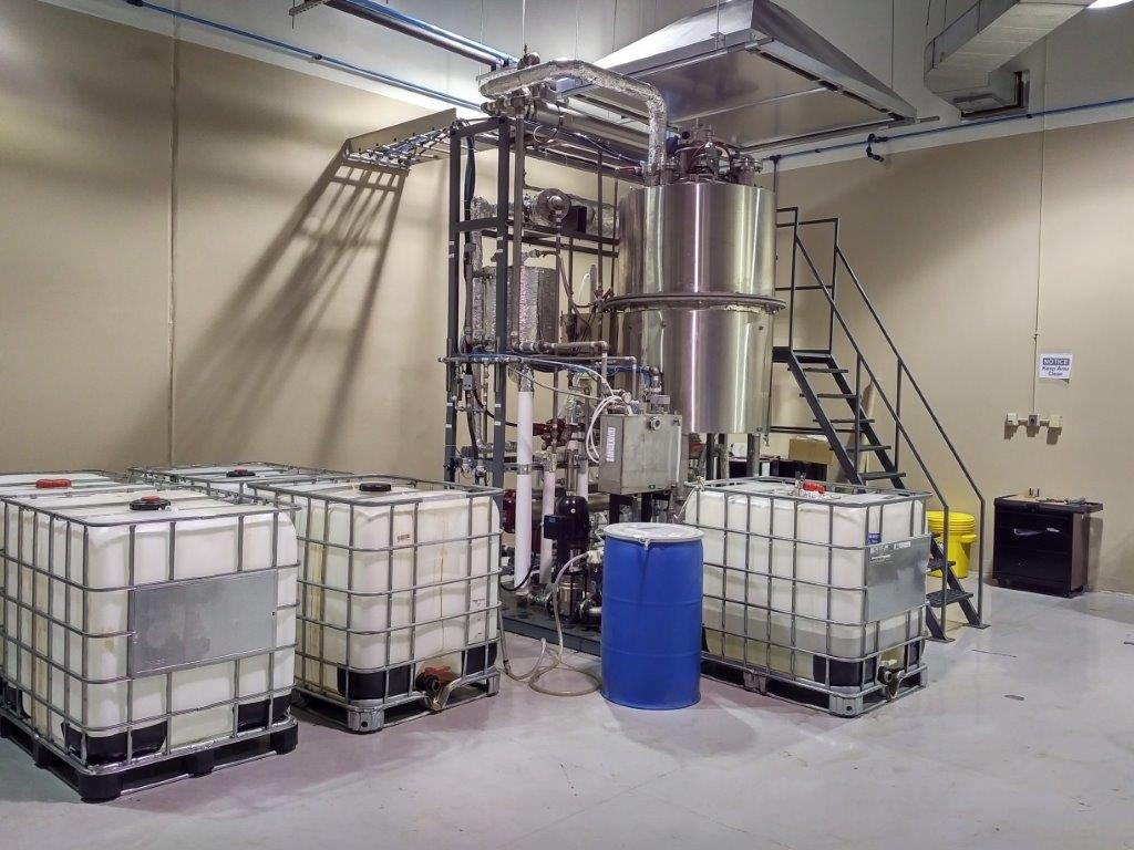 Solvent Recycling & Recovery Onsite