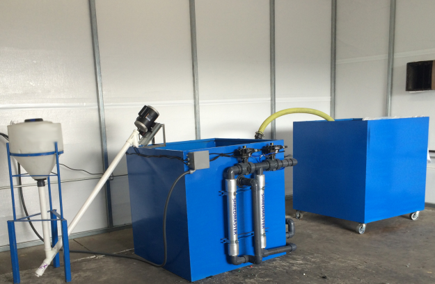 Latex Based Wastewater Recycling Equipment