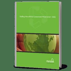 distilling nitrocellulose contaminated waste solvent - safely - eBook