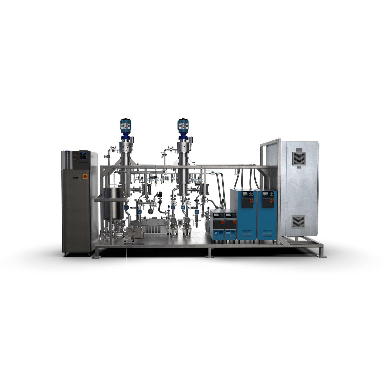 2-stage-thin-film-distillation-system