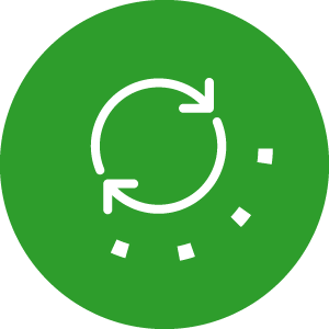 Closed loop icon