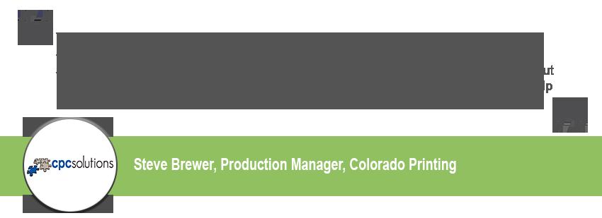 Colorado Printing Testimonial