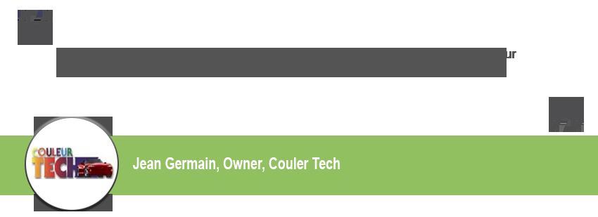 Couler Tech Testimonial