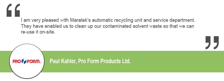 Pro Form Products Ltd.